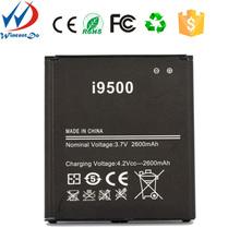 The full capacity 2600mah gb t18287-2000 battery for phone samsung