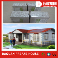 low cost and high quality long service life prefabricated homes villa , prefab houses