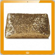 New Arrival OEM brand bling gold cosmetic bag