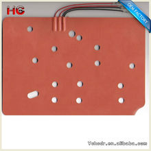 12V DC Battery Power Operated Flexible Silicone Water Tank Heating Pad for Pickup and Cars