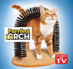 Purrfect Arch For Cats As Seen On Tv Perfect groomer for cats & kittens