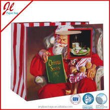 2015 latest Design Horizontal Art Paper Bags with WCA Audit
