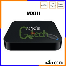 2015 hottest OEM Quad Core 2GB RAM 8GB ROM android tv box support 4K player smart mxiii ott tv box