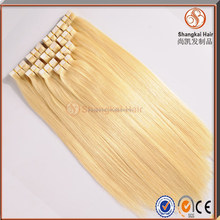 Hot Color #613/22inch Skin Weft Tape Hair Extension