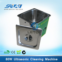 Hot sales!!! Automatic part 80 printhead cleaning machine/cleaning printerhead