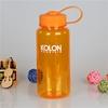 2015 cheap price bpa free plastic orange water bottle