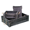 Shabby low price unfinished wood vegetable crates for sale