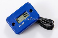 LCD Waterproof Hour Counter Motor Monitor Snowmobile Ski Mini Quad Bike