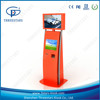 "7"", 10"" touch screen credit card gsm ticket vending machine kiosk"