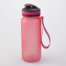 BPA free high quality water bottle, colorful portable plastic drinking bottle sport products