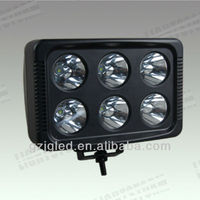 60W 4X4 LED work light for ATVs, SUV, UTV, truck, Fork lift, trains, boat, bus, and tanks