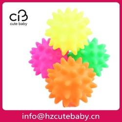 mixed squeaky vinyl ball dog toys
