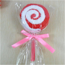 Lollipop Gift Towel / 100% Cotton Gift Towel / Kids Favourite Design with Lollipop Towel