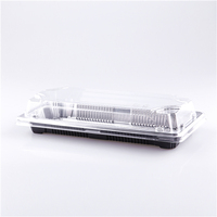 Silvery Color Long Food Tray for Sushi Fish