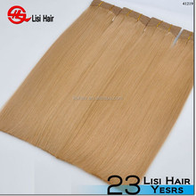 Factory Wholesale Top Quality Brazilian human honey brown hair weave