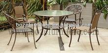 Leisure Ways Patio Furniture/ Metal Aluminum Furniture For Outdoor