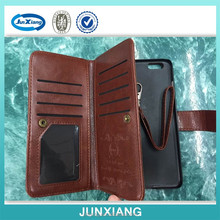 luxury wallet detachable leather case for iphone 6 mobile phone case