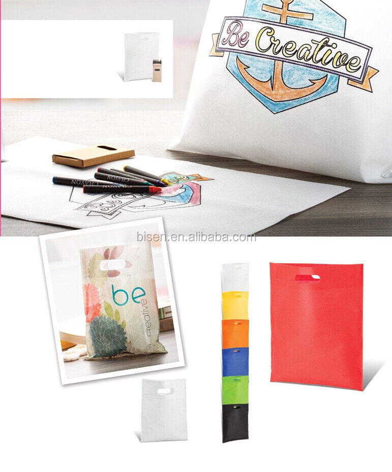 Hot 2015 Promotional Non Woven Shopping Bag , Tote bag