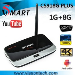 CS918G plus android tv box s805 1G,8G android tv box