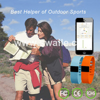 2015 hot products Bluetooth smart bracelet hands-free calls, anti radiation