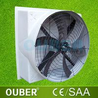 Industrial outdoor exhaust fan / wall window mounted industrial ventilating fan