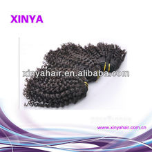 hot selling beauty human hair Brazilian jerry curl hair extension