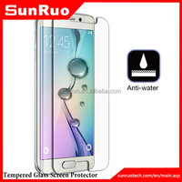 2015 New Arrival Clear TPU Screen Protector for Samsung Glalaxy S6 Edge, edge to edge screen protector