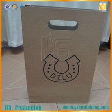 recycled plain brown grocery kraft paper bag