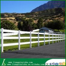 durable white pvc plastic horse fence