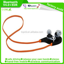 Sport Stereo Bluetooth Headset Bluetooth V4.0 With Wireless Communication For Mobile Cellphone