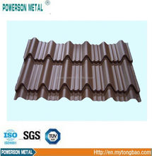 Large supply of Waterproof Painted Corrugated Steel Roofing Sheets Panel / Color Coated Metal Roof