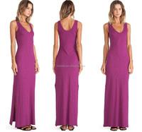plus size dresses high slit,sleeveless high quality 2XL,2XL,3XL,4XL dress summer tank dress wholesale