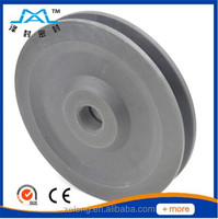 Good hardness and strength with a best price wire rope pulley wheel