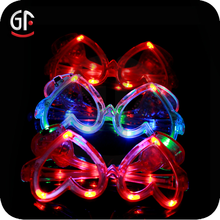 Christmas Ornament Flashing Led Novelty Christmas Glasses With High Quality