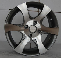 silver Alloy Wheel, replica wheel pcd 4x100