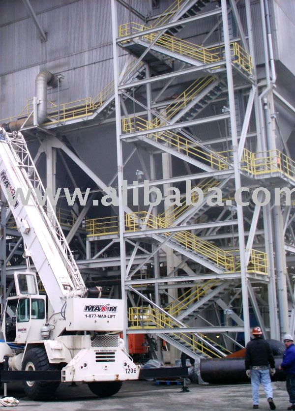 Steel stair tower buy steel stair tower product on for Stair tower