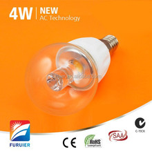 Samsung AC cob led driverless Ceramic+Milky glass base e27/e14/b22 lamp e27 led