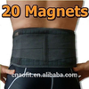 Hot sale 20 magnets pain relief neoprene magnetic waist support belt adjustable medical back waist brace