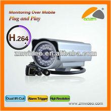 High image quality IR 2 megapixel gun ip camera