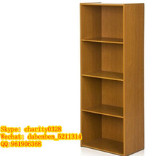 Particle board KD Design melamine colors bookcase/book shelf