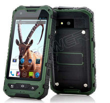 original IP68 rugged Cellphone A8 Waterproof Cellphone Dustproof Shockproof GPS 3G Gorilla glass Android 4.2 Cellphone