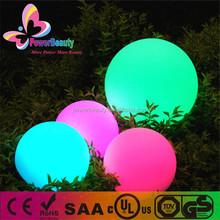 Big Outdoor Garden Lighting Sphere 500mm Waterproof Led Ball Large Size Decor