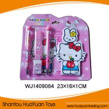 Colorful kids creative plastic pen cartoon stationery