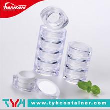 Farbige kosmetika container, kosmetische behälter verpackung, modische kosmetische behälter