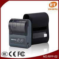 Portable thermal receipt mini printer for laptop