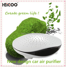 Activated Carbon Adsorption USB Plug Car Air Purifier , 20 CFM , Wholesale Negative Anion Air Car Purifier