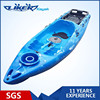 New Sit On Top Fishing Kayak with Transparent hatch, Plastic fishing kayak, Fishing Canoe Kayak