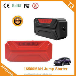ce fcc rohs certification 16500mah 12V 24V 600A Charge Sustaining 6 month lithium battery car jump starter