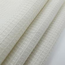 wholesale cotton white plain fabric price dobby design