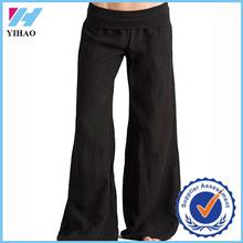 Trade assurance Yihao women yoga sport pants,wide leg yoga pants